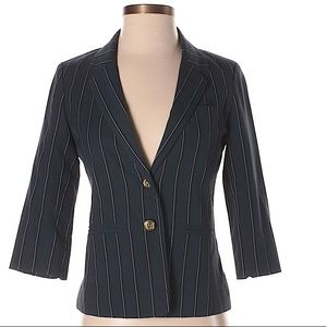 Used BP Navy Striped Blazer in XS/ 2P